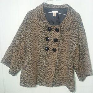Harold's cheetah print jacket